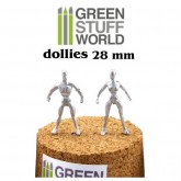 Armature Dollies 28mm x 5