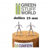 Armature Dollies 25mm x 5