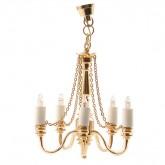 5 Arm Ceiling Lamp