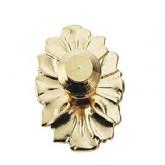 Brass Medallion Knob