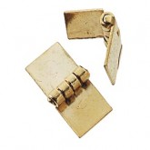 Gold-Plated Square Hinge