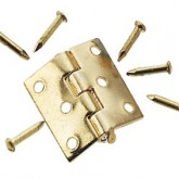 Gold-Plated Butt Hinge