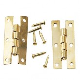 Gold-Plated 'H' Hinge