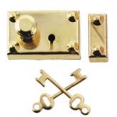 Gold-Plated Americana Lock