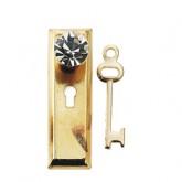 Crystal Classic Knob & Keyplate