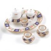 Patterned China Tea Set