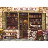 The Book Shop & Antiques Jigsaw Puzzle