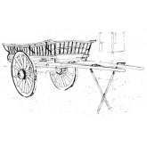 Northumberland Harvest Cart