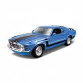 1970 Ford Mustang Boss Metal Model Kit
