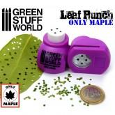 Leaf Punch Medium Purple