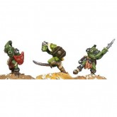 Casting Mould - Orc Berserkers x 3