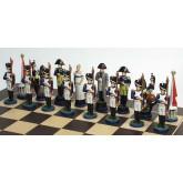 Complete Napoleon chess set