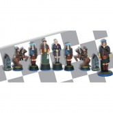 Jacobite Rising Chess Set: Bonnie Prince Charlie Scottish