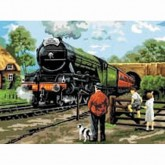 Painting By Numbers - Steam Train