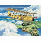 Painting By Numbers - Nostalgic Plane