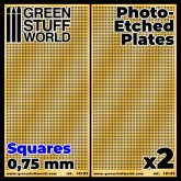 Square Holes - 0.75mm