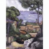 L'Estaque A Villa - Acrylic Painting