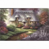 Romantic Cottage - Acrylic