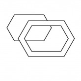 Stretched Hexagon Fabric