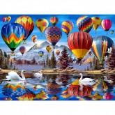 Hot Air Balloons Puzzle