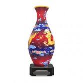 3D Puzzle - Dragon & The Phoenix Vase