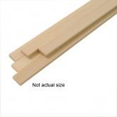 Wood Strips 3 x 3 x 500mm