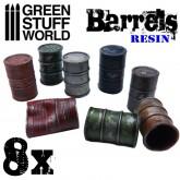 Resin Barrels-8Pk