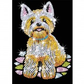 Sequin Art - Westie