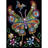 Sequin Art - Butterfly