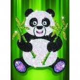 Sequin Art - Panda
