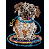 Sequin Art - Pug