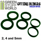 Silicon Guide Ring Set