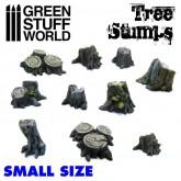 Resin Tree Stumps Small - 10Pk