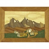 Marquetry Kit - P Village