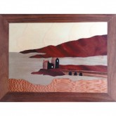 Traditional Marquetry Craft Kit - Eilean Donan Castle
