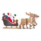 Santa & Reindeer Design