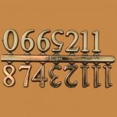 """Arabic Numerals - 3/4"""" ("""
