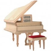 Grand Piano & Stool