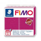 Fimo Leather - Berry