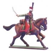 Mounted Mameluk figure