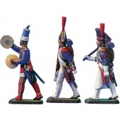 French Inperial Guard massed Band 1805