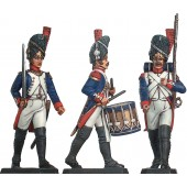 French Imperial Guard on Parade