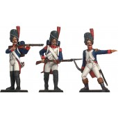French Imperial Guards in Combat
