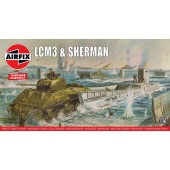 Airfix - Lcm3 And Sherman AW