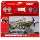 Airfix Kit - Spitfire MK 1A Grey