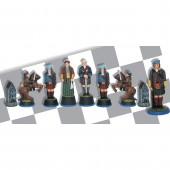 Jacobite Rising Chess Set: Bonnie Prince Charlie Scottish