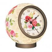 3D Puzzle - Classic Rose Clock