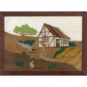 The Old Mill Marquetry