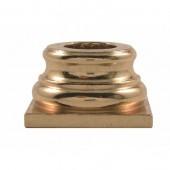 Brass Column Base