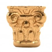 Brass Column Capital